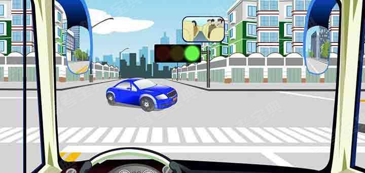 驾驶机动车在交叉路口遇到这种情况可以不让行。