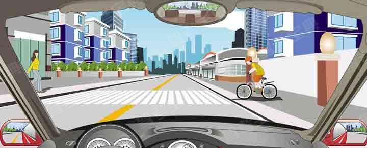 驾驶机动车遇到人行横道怎样应对?