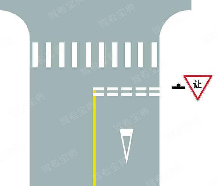 路口最前端的双白虚线是什么含义?