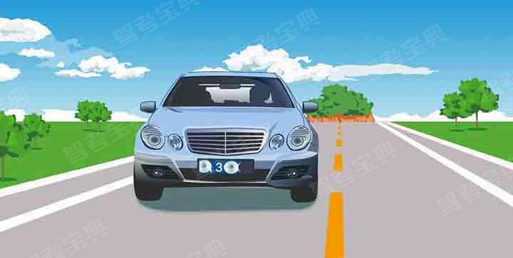 驾驶这种机动车上路行驶属于什么行为?