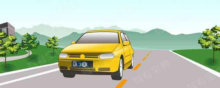 这辆在道路上行驶的机动车有下列哪种违法行为?