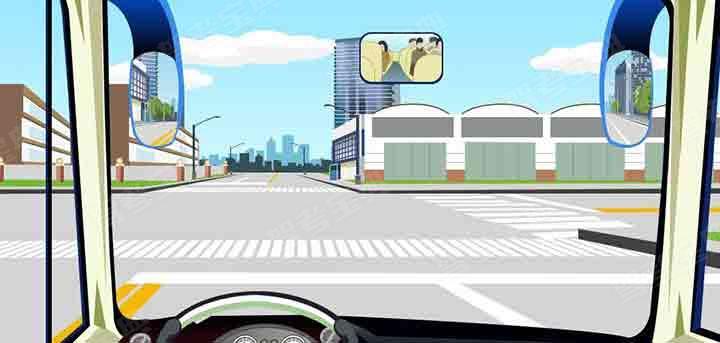 驾驶机动车遇到这种情况的人行横道怎样通过?