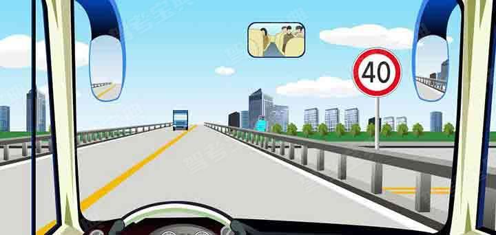 驾驶机动车怎样经过公路跨线桥?