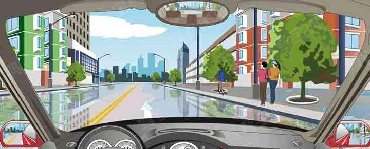 驾驶机动车遇到这种情况要如何行驶?