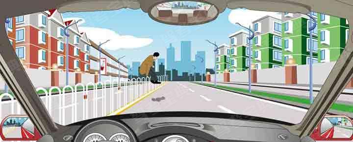 行车中对不走人行横道的行人可以礼让。