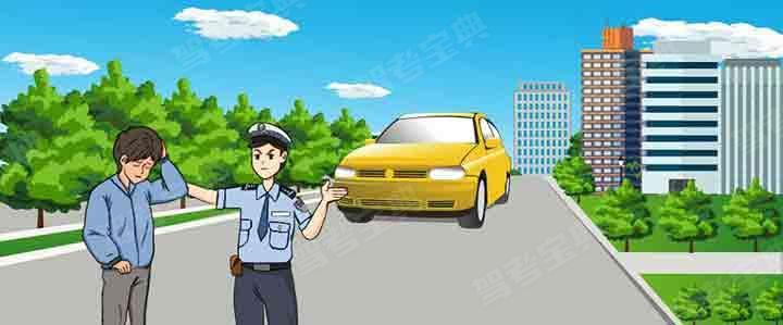 图中所示驾驶人的这种行为是违法行为,会被记12分。