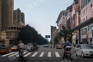 如图所示,驾驶机动车驶近这样的人行横道时,驾驶人应注意的是什么?