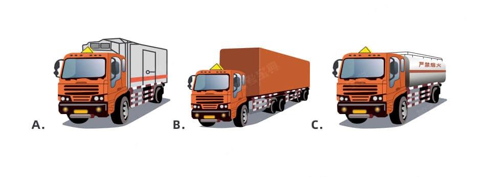 以下车型中适合运输有机过氧化物、疫苗、菌苗的是( )。