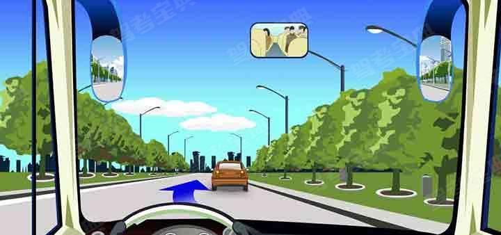 驾驶机动车在这样的道路上只能从左侧超越。