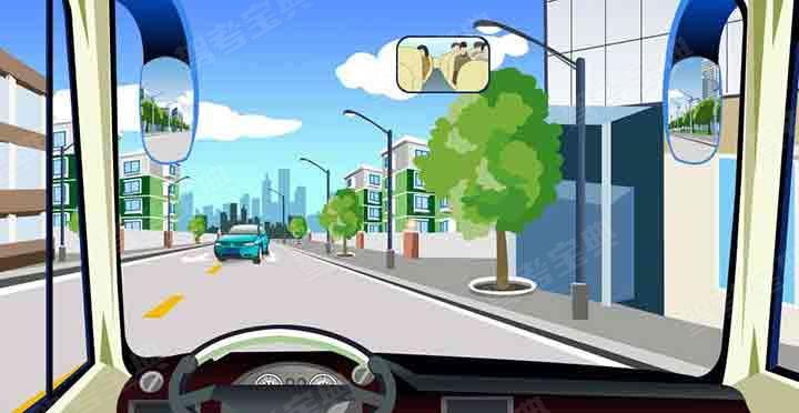 在這種情況下怎樣會車最安全?