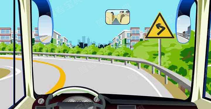在这种条件的道路上怎样安全行驶?