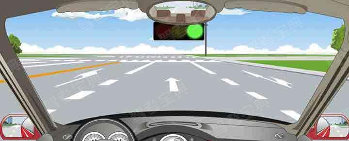 在這個路口左轉彎選擇哪條車道?