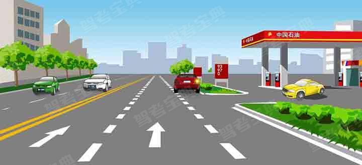 这样临时停放红色轿车有什么违法行为?