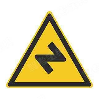 这个标志的含义是警告前方道路易滑,注意慢行。