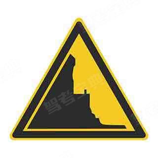 这个标志的含义是提醒车辆驾驶人前方是堤坝路段。