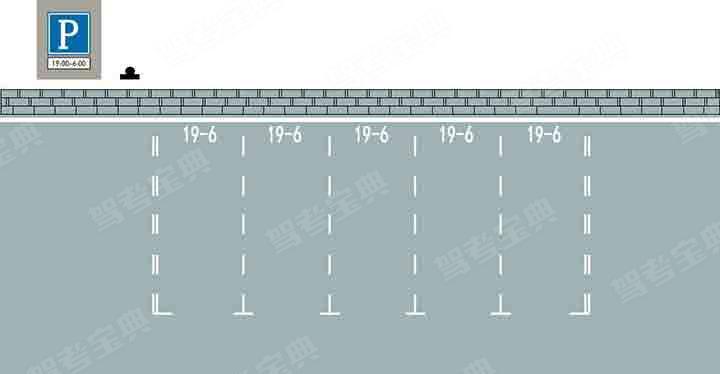 这种白色矩形标线框含义是什么?