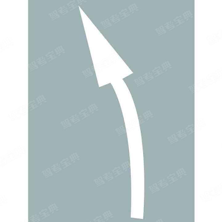 这个导向箭头是何含义?