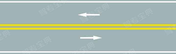路中心的双黄实线属于哪一类标线?