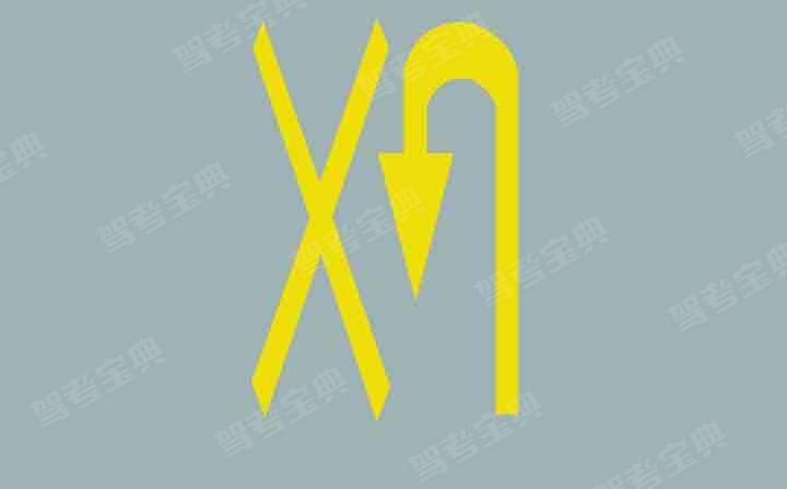 路面上的黄色标记是何含义?