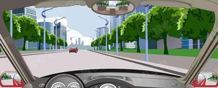 驾驶机动车在这种道路上怎样会车最安全?