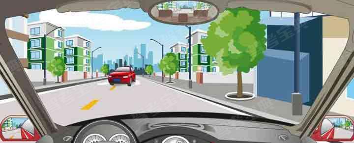 在这种情况下怎样会车最安全?