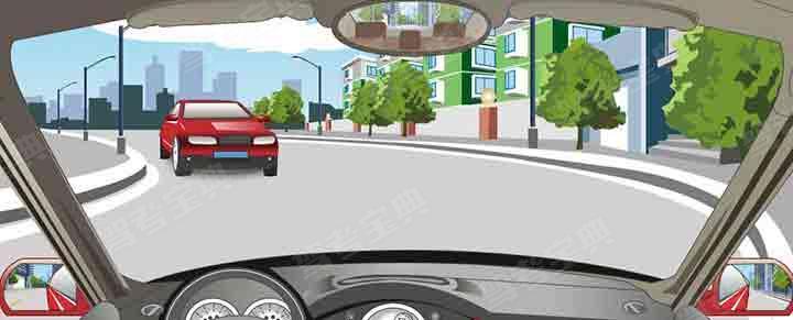 在这种没有中心线的弯道上怎样安全会车?