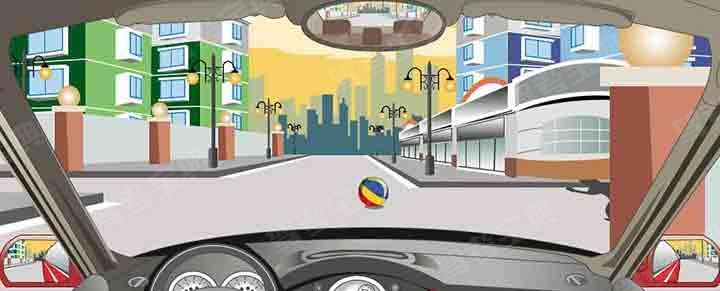 驾驶机动车通过居民小区遇到这种情况怎样处置?