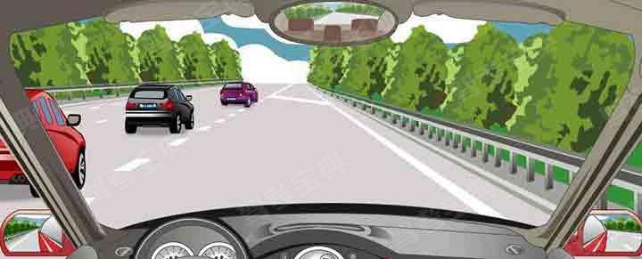 驾驶机动车遇到这种情况怎样进入行车道?